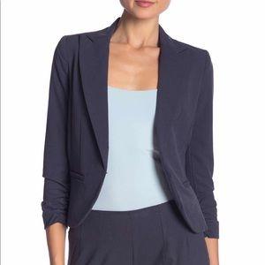 Slate colored Blazer 3/4 Sleeve Size 6